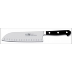 Нож японский с бороздками Santoku 180/300 мм, кованый MAITRE Icel /1/
