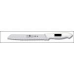 Нож для хлеба 255/375 мм черный, с волн.кромкой HoReCa Icel /6/