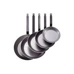 Сковорода d=20 см. белая сталь Carbone Steel (индукция) De Buyer /1/3/