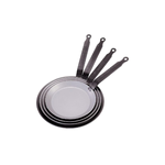 Сковорода для блинов d=18 см. белая сталь Carbone Steel (индукция) De Buyer /1/5/