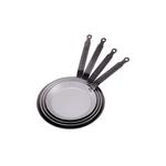 Сковорода для блинов d=20 см. белая сталь Carbone Steel (индукция) De Buyer /1/5/