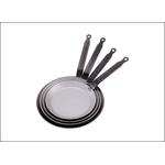 Сковорода для блинов d=22 см. белая сталь Carbone Steel (индукция) De Buyer /1/5/