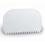 Скребок полипроп. 14,5*9,5 см. жесткий с зубчиками