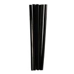Трубочки кокт. 0,5*12,5 см. 400 шт/уп. черные MINI /1/50/