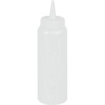 Емкость для соуса375 мл. с крышкой прозрачная MG /1/24/ ТП