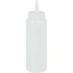 Емкость для соуса700 мл. с крышкой прозрачная MG /1/24/ ТП