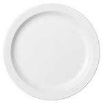 Тарелка с узким ободком 22,9см белая Cambro
