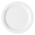 Тарелка с узким ободком 25,4см белая Cambro