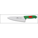"""Нож поварской 200/335 мм """"Шеф"""" красный HoReCa Icel /6/"""