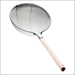 Сито d=350 мм. нерж.(мелкая сетка) с деревян. ручкой (DT-Y1801-35) /1/