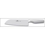 Нож японский Santoku 180/300 мм, кованый PLATINA Icel /1/