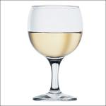 Бокал для вина 175 мл. d=68, h=134 мм бел. Бистро Б /12/
