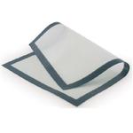Коврик для выпечки 62*42 см. силиконовый белый на ткан. основе