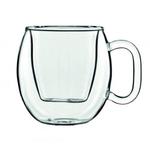 Кружка 300 мл. d=106, h=109 мм с двойными стенками Thermic Glass Caffe Supremo /2/
