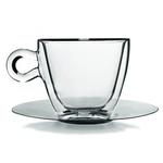 Чайная пара 300 мл. d=98, h=88 мм с двойными стенками 2 шт. Капучино Thermic Glass /1/