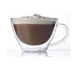 Чашка 385 мл. d=118, h=80 мм чайная с двойными стенками Thermic Glass /2/