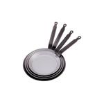 Сковорода для блинов d=16 см. белая сталь Carbone Steel Plus (индукция) De Buyer /1/5/