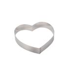 """Форма для выкладки/выпечки """"Сердце"""" d=14 см. h=4 см. нерж. De Buyer /1/"""