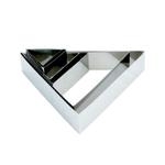 """Форма для выкладки/выпечки """"Треугольник"""" 12*14 см h=5 см MGSteel /1/96/"""