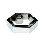 """Форма для выкладки/выпечки """"Шестиугольник"""" l=21*24 см h=5 см MGSteel"""