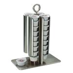 Диспенсер для пакетированных сливок 18*10 см. h=24 см. нерж. APS