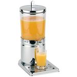 Диспенсер для соков, холод.напитков, 4 л h=43 см. колба пласт. с 1 охлажд. элем. APS