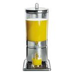 Диспенсер для соков, холод.напитков, 6 л 23*35 h=52 см. колба пласт. с 2-мя охлажд. элем. APS