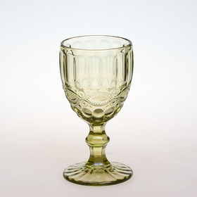 Бокал для вина 250 мл. d=80, h=155 мм зеленый (SRO1715SC-1/BHA6 Green) /6/