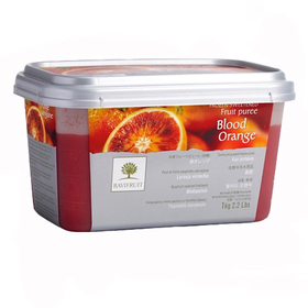 Пюре из красного апельсина 10 % сахара 1кг