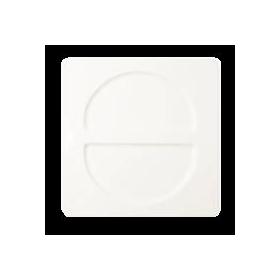 """Тарелка """"Fennel"""" квадрат. 30х30 см., плоск., фарфор, RAK Porcelain, AllSpice"""