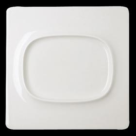 "Тарелка ""Lavender"" квадрат. 30х30 см., фарфор, RAK Porcelain, AllSpice"